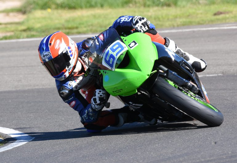 Rory Skinner onboard Kirkcaldy Kawasaki Superstock ZX-6R
